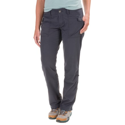 Marmot Ginny Roll-Up Hiking Pants - UPF 30 (For Women) in Dark Steel - Closeouts