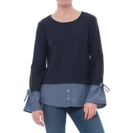 Alexander Jordan Two-Fer Shirt - Long Sleeve (For Women)