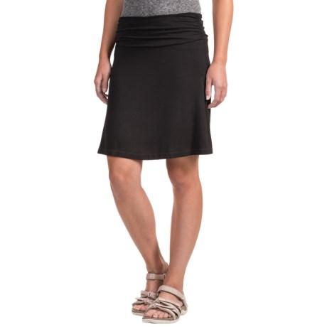 White Sierra Tangier Skirt - Stretch Rayon (For Women)