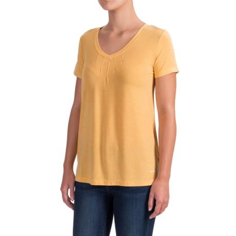 White Sierra Kalahari II T-Shirt - Modal Blend, Short Sleeve (For Women)