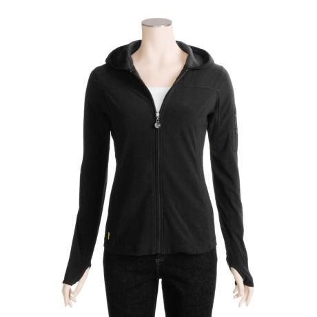 Lole Amuse Zip-Up Shirt - UPF 50+, Hooded, Long Sleeve (For Women)