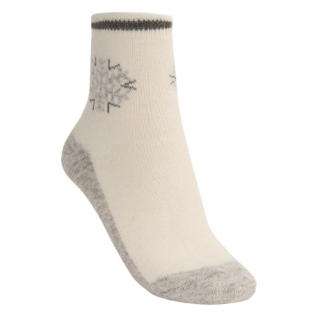 Icewear Angora Wool Ankle Socks - Midweight (For Women)