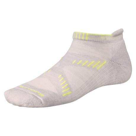 Smartwool PhD Running Light Cushion Micro Mini Socks - Merino Wool (For Women)