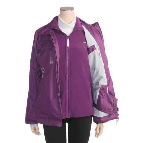Obermeyer Dual Ski Jacket - 3-in-1, Insulated (For Women)