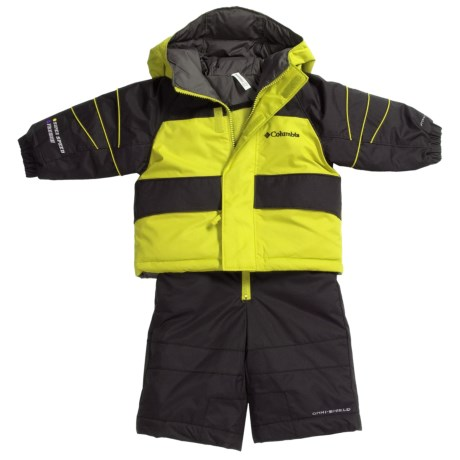 Columbia Sportswear Zoing Jacket and Bib Pants Set - Reversible, Insulated (For Infants)