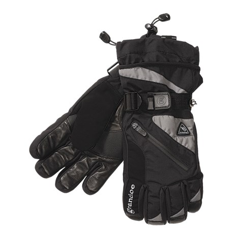 Grandoe Tundra Nylon Gloves - Insulated (For Men)