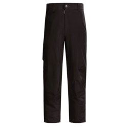 White Sierra Fleece-Lined Snow Pants (For Tall Men)