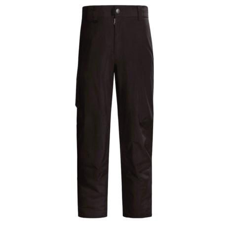 White Sierra Fleece-Lined Snow Pants (For Tall Men)