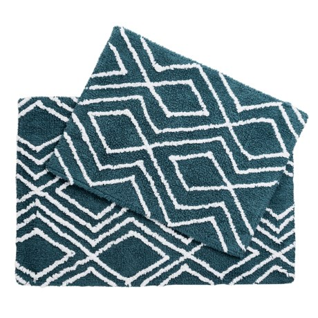 CHD Home Lima Collection Bath Rugs - Set of 2