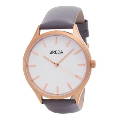 Breda Asper Watch - Leather Strap (For Women)