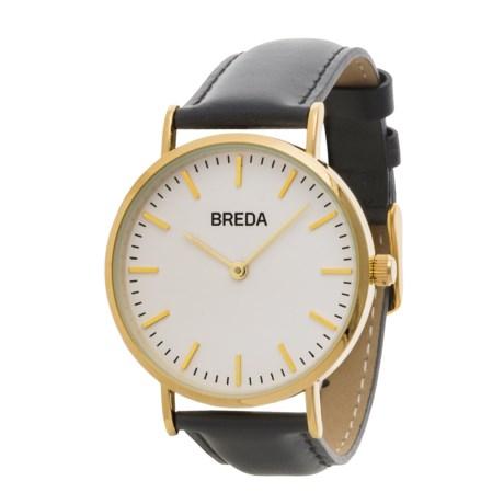 Breda Lyra Watch - Leather Strap (For Women)