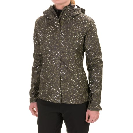 White Sierra CloudburstTrabagon Printed Rain Jacket (For Women)