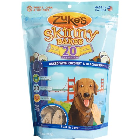 Zuke's Zuke's Skinny Bakes Coconut & Blackberry Dog Treats - 10 oz.