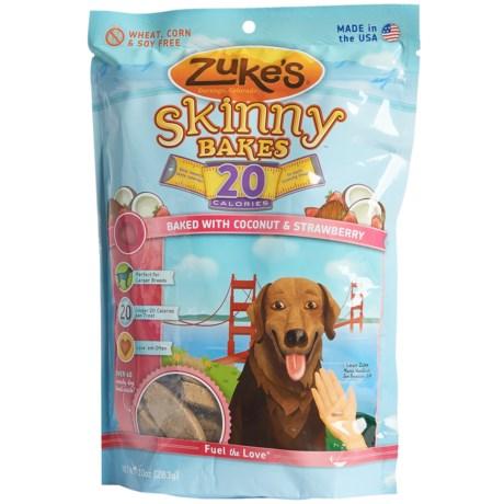Zuke's Zuke's Skinny Bakes Coconut & Strawberry Dog Treats - 10 oz.