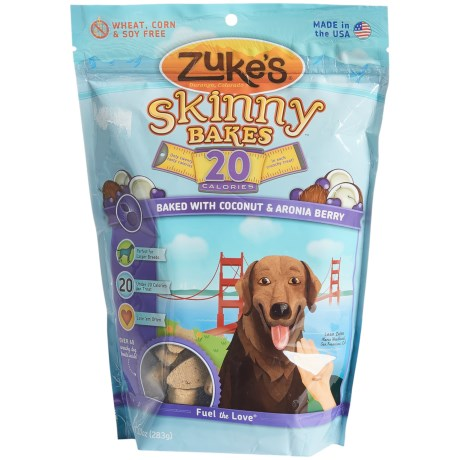 Zuke's Zuke's Skinny Bakes Coconut & Aronia Berry Dog Treats - 10 oz.