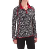 Krimson Klover Star Gazer Sweater - Merino Wool, Zip Neck (For Women)
