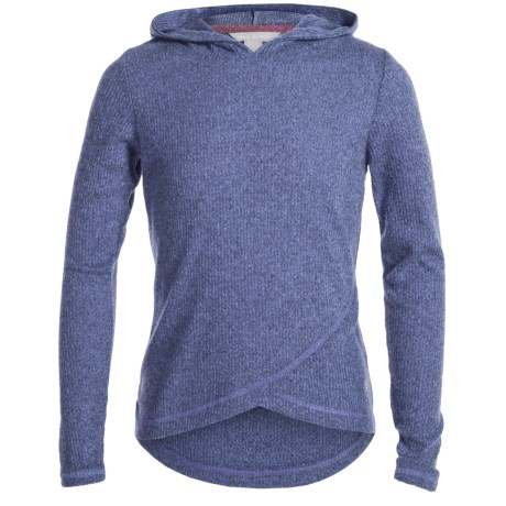 Harmony and Balance Brushed Hacci Hoodie (For Big Girls)