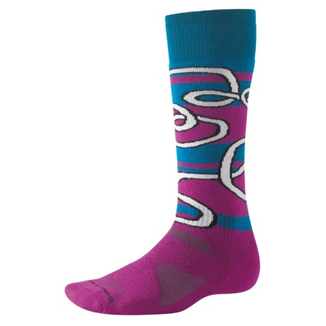 SmartWool Park Art Convoluted Socks - Merino Wool, Heavyweight (For Men and Women)