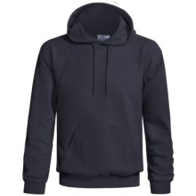 Hanes Cotton-Rich 9 oz Hoodie - No Shrink, Pill Resistant (For Men and Women) in Navy - 2nds