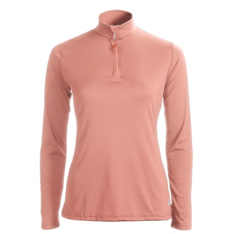 Hot Chillys Peachskins Base Layer Top - ¼-Zip, Midweight, Long Sleeve (For Women)