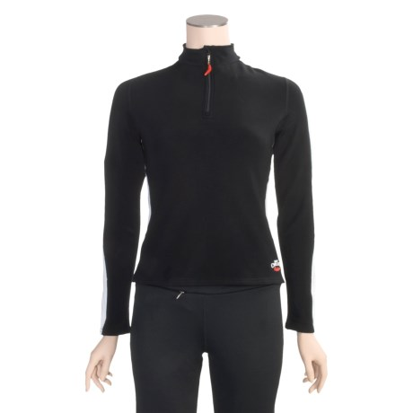 Hot Chillys Micro-Elite Brushed Panel Shirt - Heavyweight Base Layer, Long Sleeve (For Women)