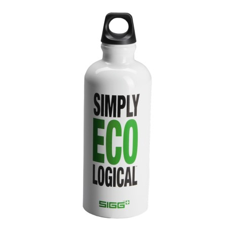 Sigg Screw-Top Water Bottle -  BPA-Free, 0.6L