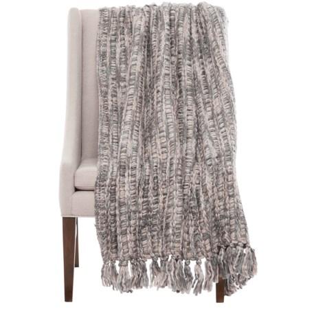 """Nicole Miller Chunky Woven Leanna Throw Blanket - 50x60"""""""