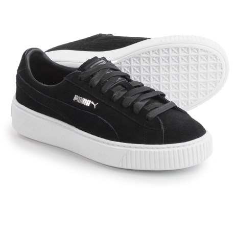 Puma Platform Sneakers - Suede (For Women)