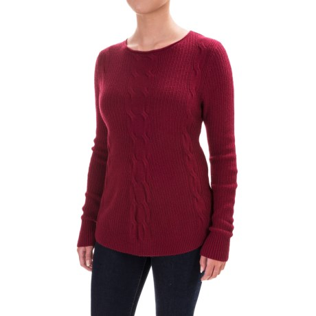 Parkhurst Barbara Cable-Knit Sweater (For Women)
