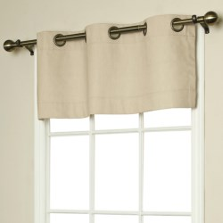 "Thermalogic Weathermate Valance - 40x15,"" Grommet-Top, Insulated"