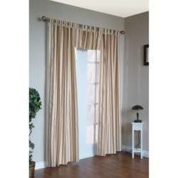 "Thermalogic Weathermate Stripe Curtains - 80x63"", Tab-Top, Insulated"