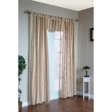 "Thermalogic Weathermate Stripe Curtains - 80x84"", Tab-Top, Insulated"