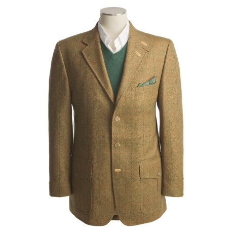 Lambourne Herringbone Action Back Jacket - Wool (For Men)
