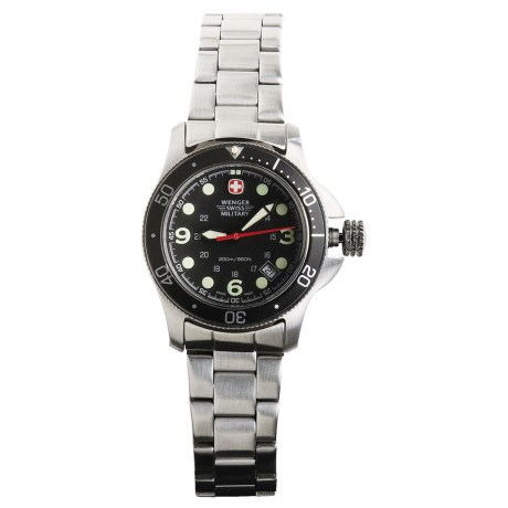 Wenger Swiss Military Battalion Watch - Stainless Steel Bracelet  (For Women)