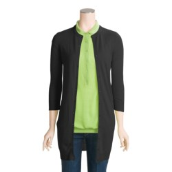 Karoo Cardigan Sweater - Cashmere, 3/4 Sleeve (For Women)