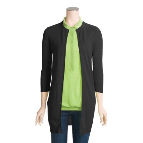Karoo Cardigan Sweater - Cashmere, 3/4 Sleeve (For Women)