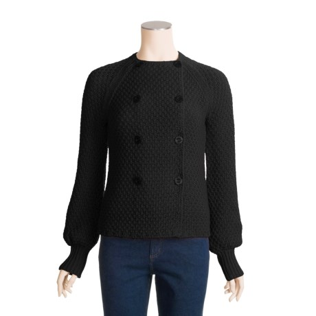 Karoo Double-Breasted Sweater - Cashmere-Wool (For Women)