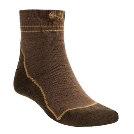 Keen Bellingham Lite Socks - Merino Wool, Lightweight, Quarter-Crew (For Men)