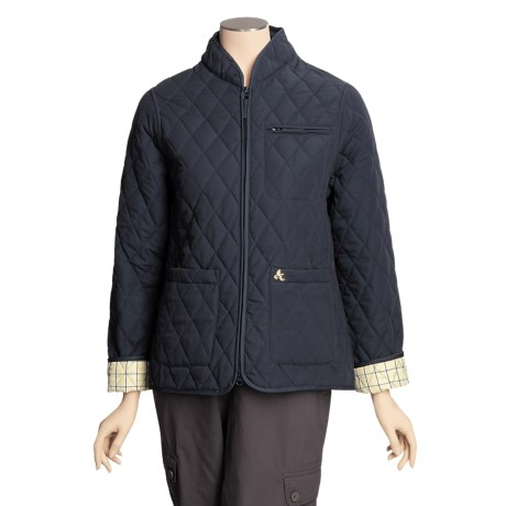 John Partridge Lichfield Quilted Microfiber Jacket (For Women)