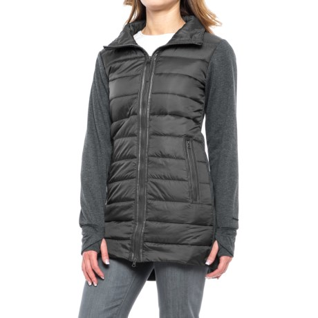 Mondetta Mixed Media Jacket - Insulated (For Women)