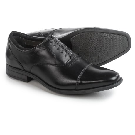Hush Puppies Evan Maddow Oxford Shoes - Leather, Cap Toe (For Men)