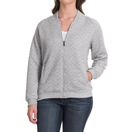 Stillwater Supply Co . Quilted Bomber Jacket (For Women)