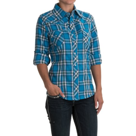 Stillwater Supply Co Western Shirt - Snap Front, Long Sleeve (For Women)