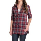 Stillwater Supply Co . Flannel Tunic Shirt - Long Sleeve (For Women)