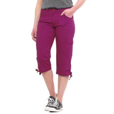 Stillwater Supply Co Tummy Control Dyed Capris (For Women)