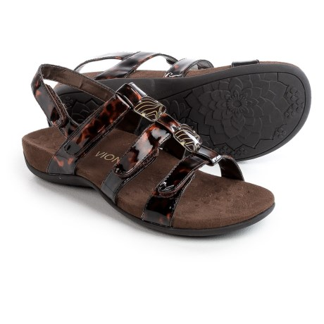 Vionic with Orthaheel Technology Amber Double-Strap Buckle Sandals (For Women)