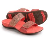 Vionic with Orthaheel Technology Samoa Double-Strap Sandals - Leather (For Women)