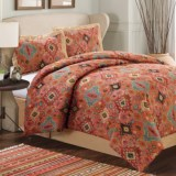 Dream Suite Aztec Print Comforter Set - King, 4-Piece
