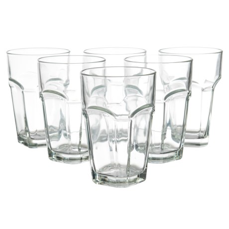 Global Amici San Marco Highball Glasses - 14 fl.oz., Set of 6