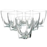 Global Amici Camelot Double Old-Fashioned Glasses - 12 fl.oz., Set of 6